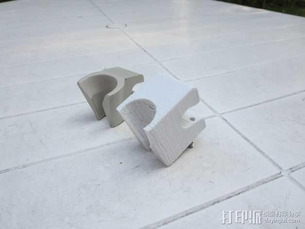 牙医钻床支座  3D打印模型渲染图