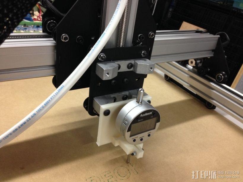 针盘指示表固定架 3D打印模型渲染图