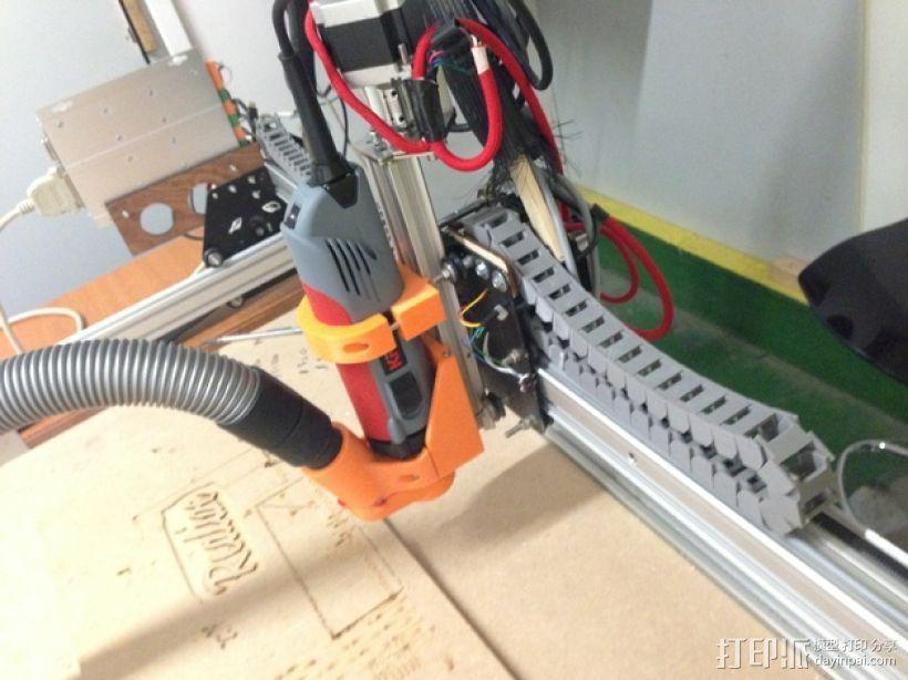 Shapeoko CNC设备固定架 3D打印模型渲染图