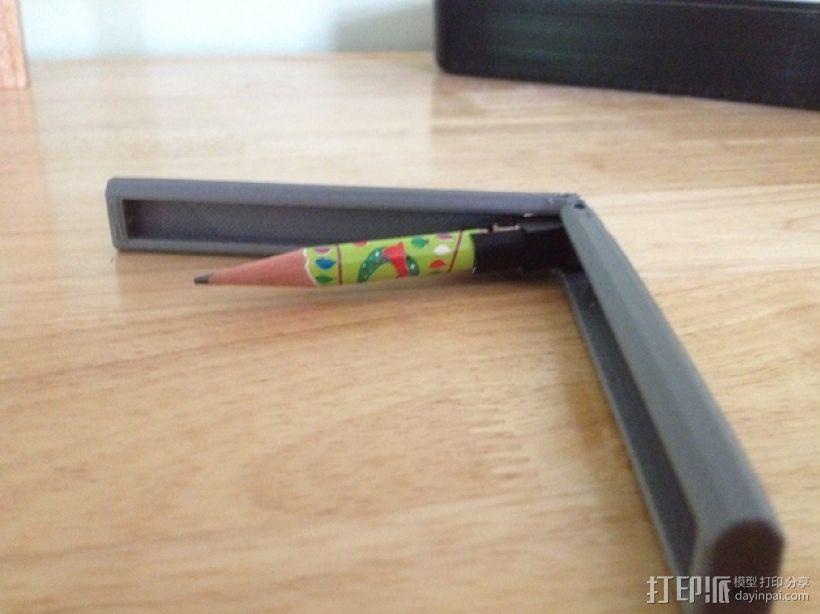 个性化铅笔 3D打印模型渲染图