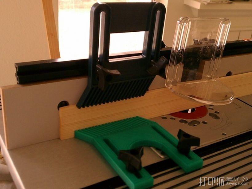 铣削台锁紧螺帽 3D打印模型渲染图