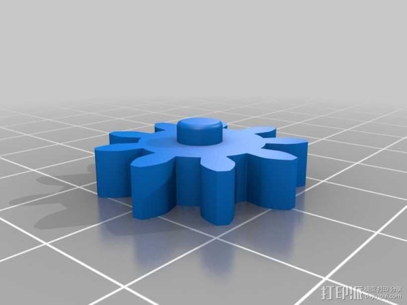 磨床  3D打印模型渲染图