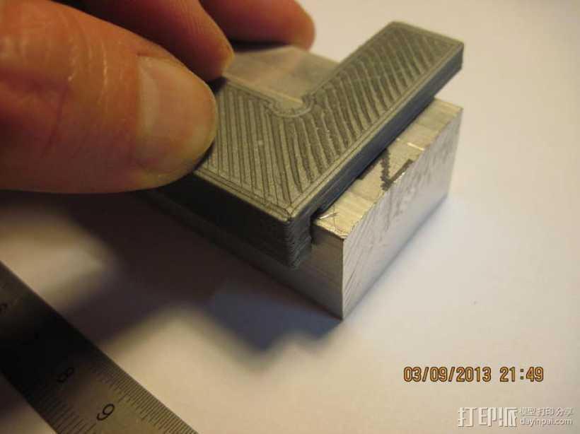 丁字尺 3D打印模型渲染图