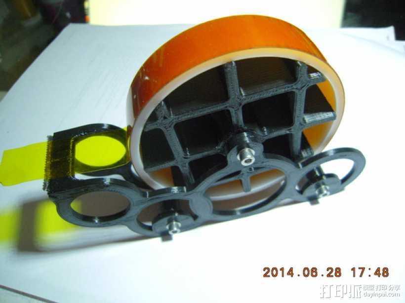 kapton胶带分割器 3D打印模型渲染图