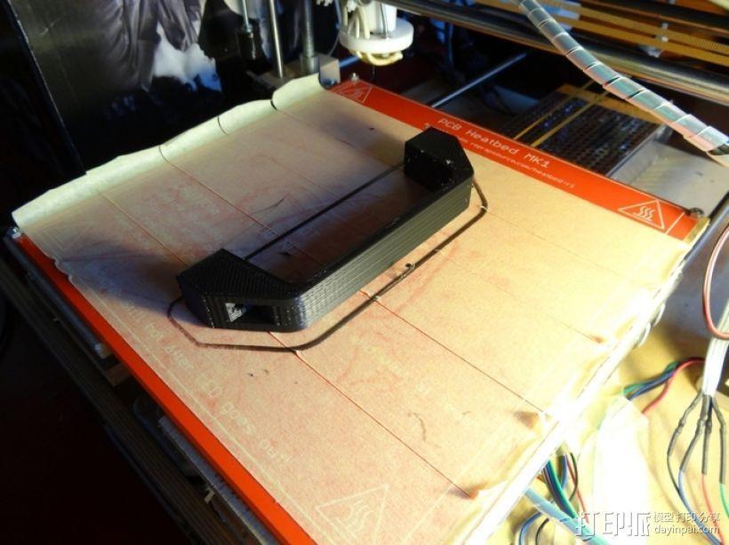 简易把手 3D打印模型渲染图