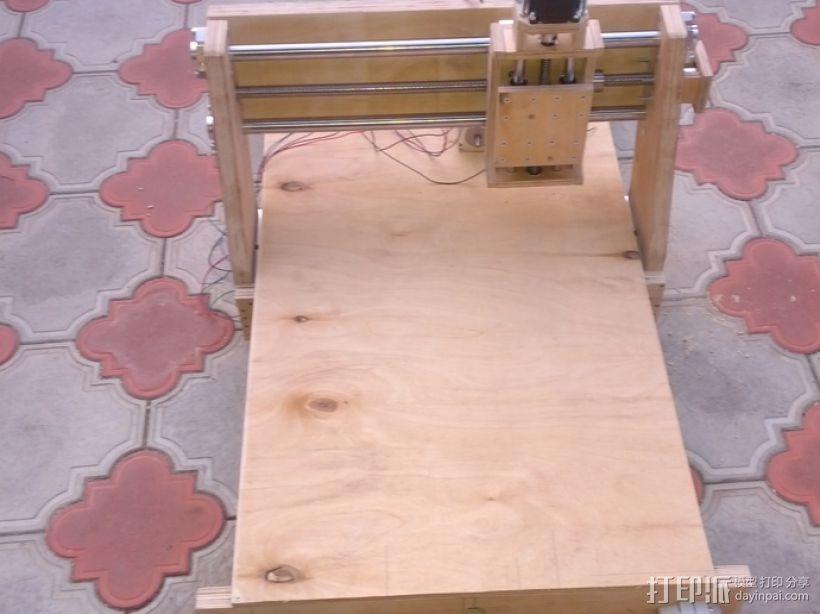 数控雕刻机 3D打印模型渲染图