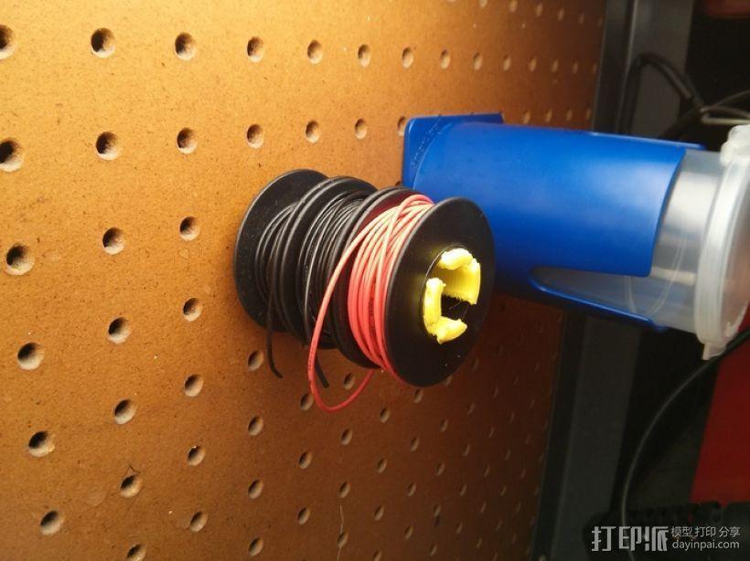 钉板 线轴固定架 3D打印模型渲染图