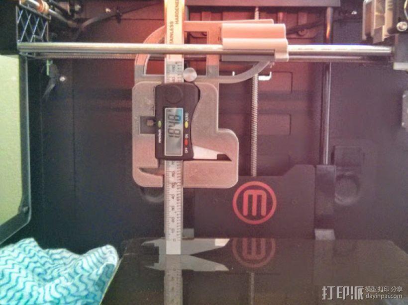数显卡尺固定架 3D打印模型渲染图