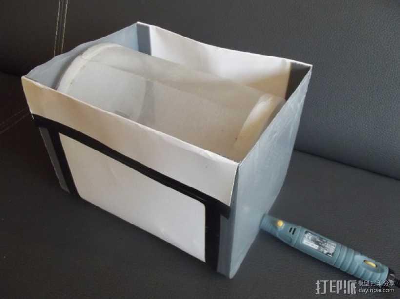 萃取器 3D打印模型渲染图