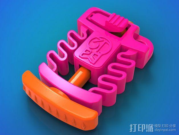 Print & Play 启动器  3D打印模型渲染图