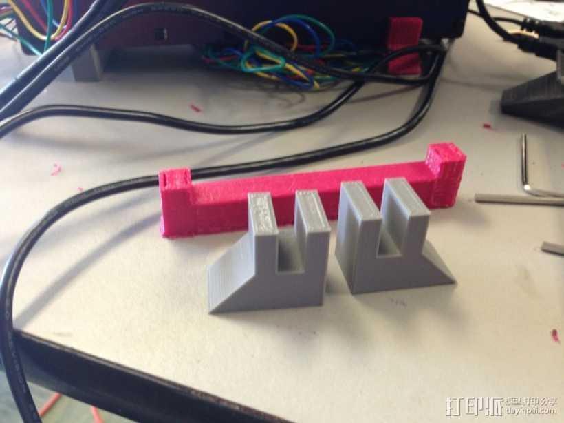 Printrbot Simple 3D打印机底座 3D打印模型渲染图
