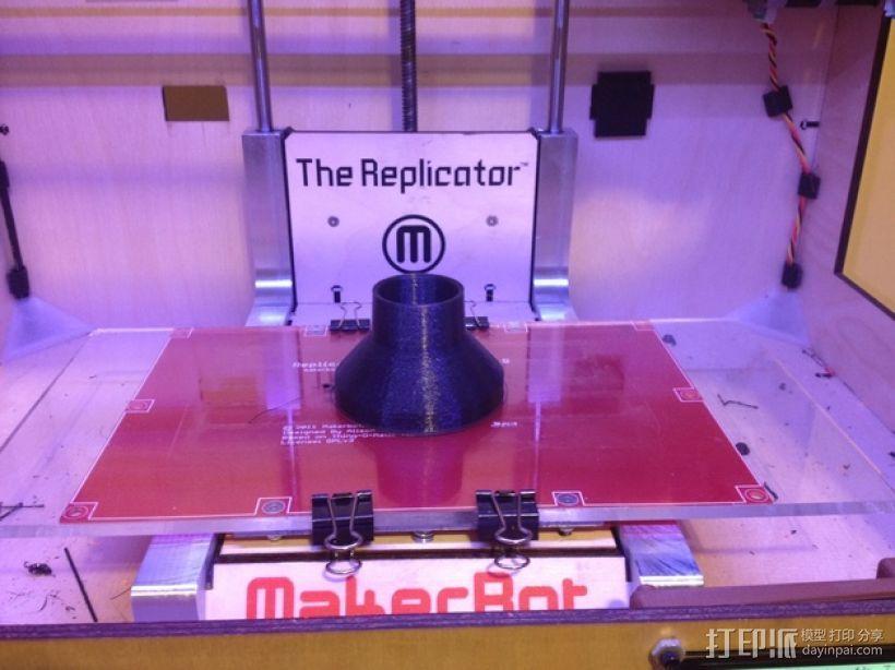 博世RA1181真空吸尘软管配适器 3D打印模型渲染图