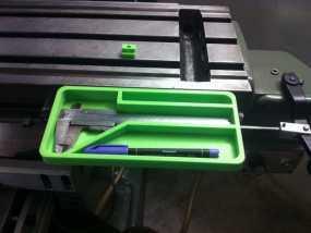 打磨机工具架