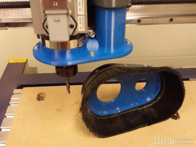 Shopbot CNC设备吸尘器 3D打印模型渲染图