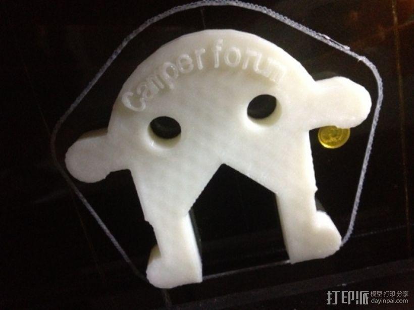 迷你扳手 3D打印模型渲染图