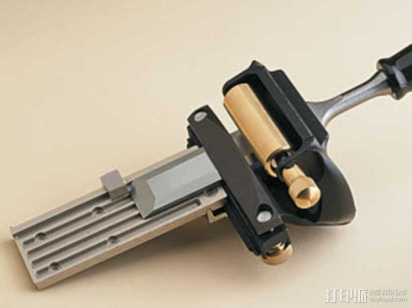 磨刀架 3D打印模型渲染图