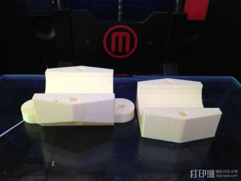 数控刀具 分离连接器  3D打印模型渲染图