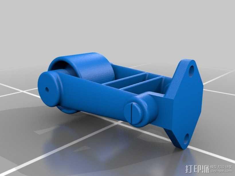 螺栓紧固器 3D打印模型渲染图