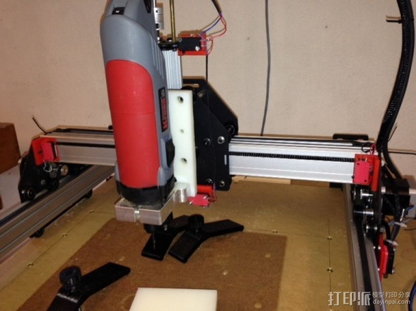 Shapeoko 2限位开关 3D打印模型渲染图