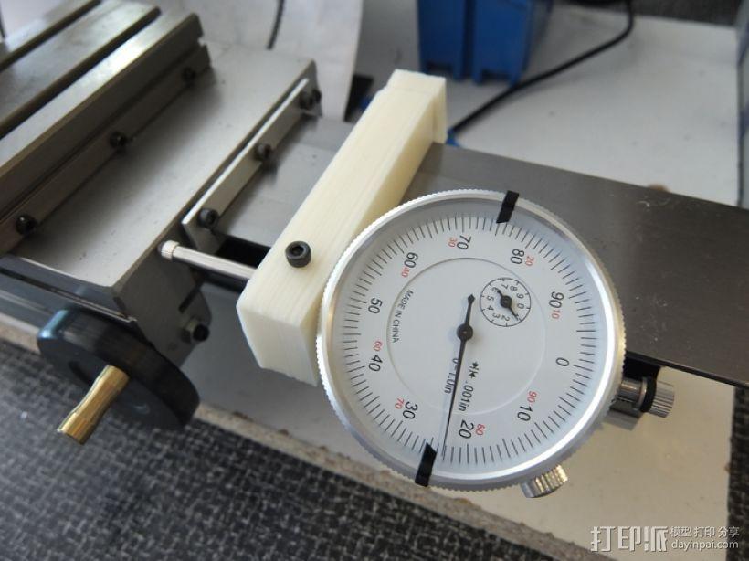 车床 针盘指示器固定夹 3D打印模型渲染图