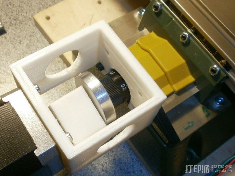 nema 步进电机固定架 3D打印模型渲染图