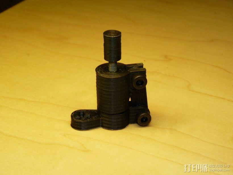 草药压制机 3D打印模型渲染图