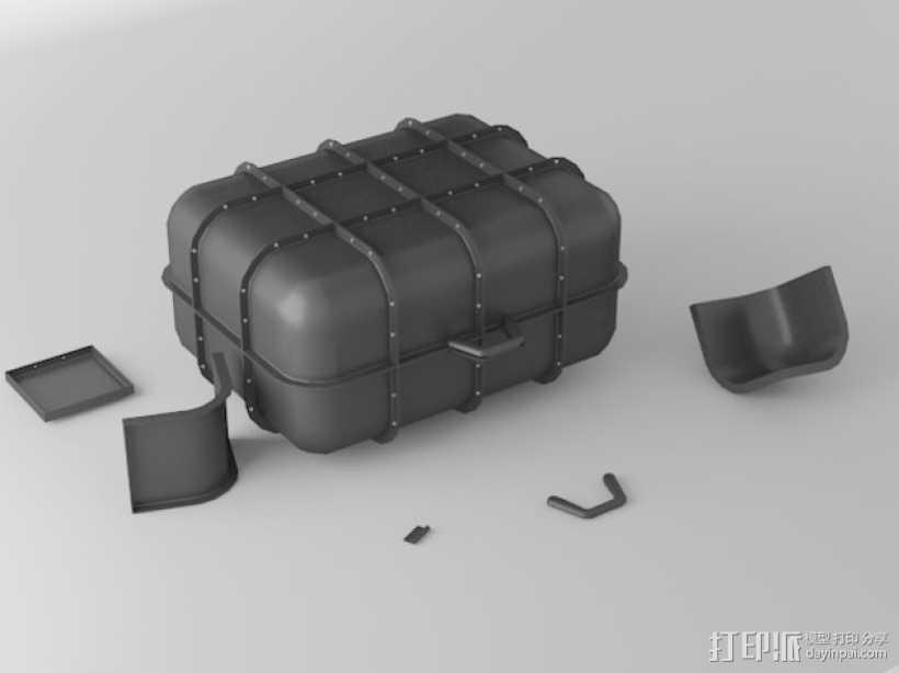 模块化小盒 3D打印模型渲染图
