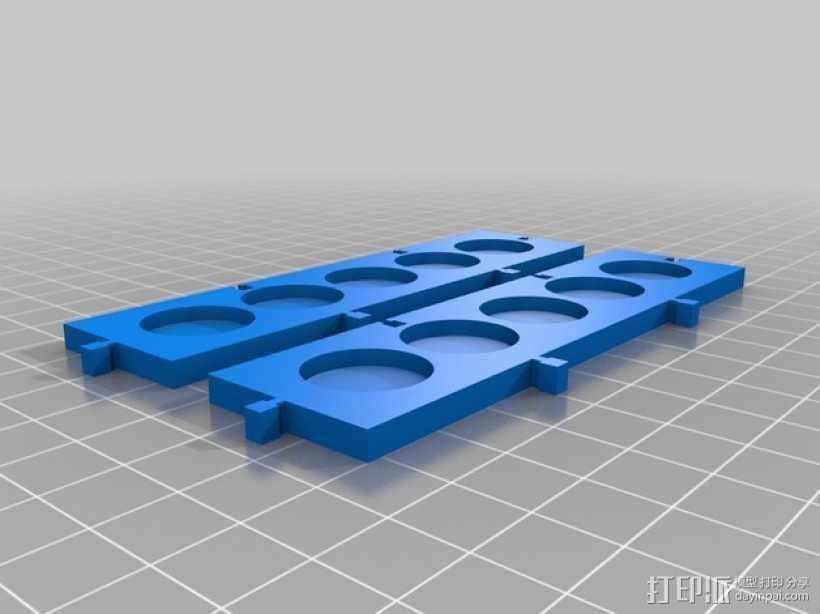 模块化调色板 3D打印模型渲染图