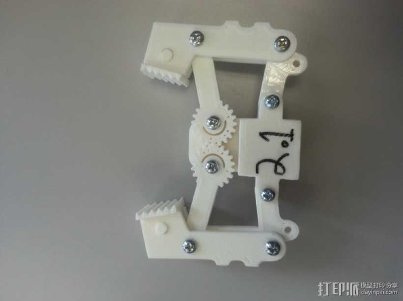 爪钩 V2 3D打印模型渲染图