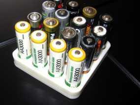 电池收纳架