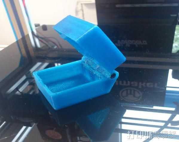 小盒 3D打印模型渲染图