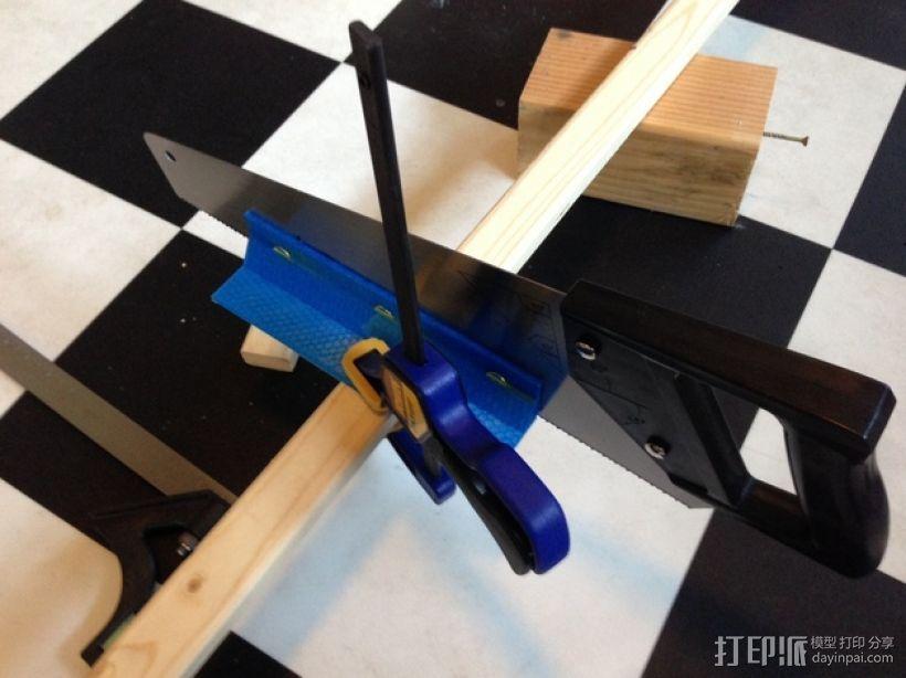 手锯 引导装置 3D打印模型渲染图