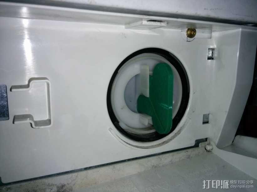 西门子洗衣机 棉绒过滤板 3D打印模型渲染图