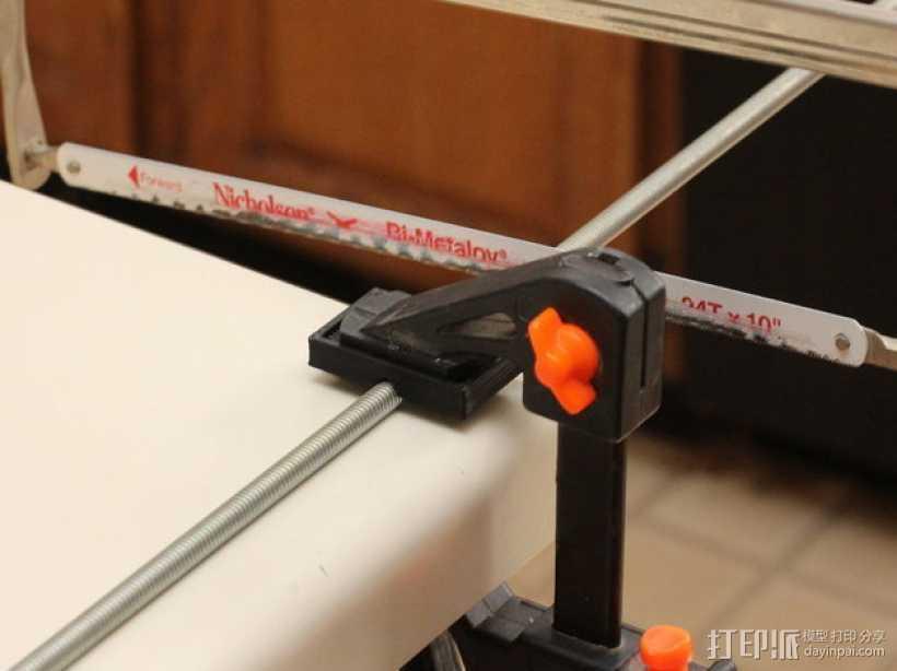 杆夹配适器 3D打印模型渲染图