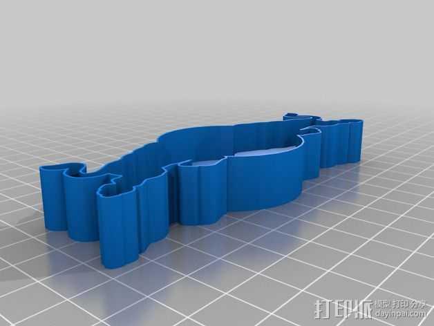 红牛 饼干制作模具 3D打印模型渲染图