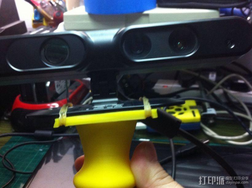 Generic 3D扫描仪底座/把手 3D打印模型渲染图