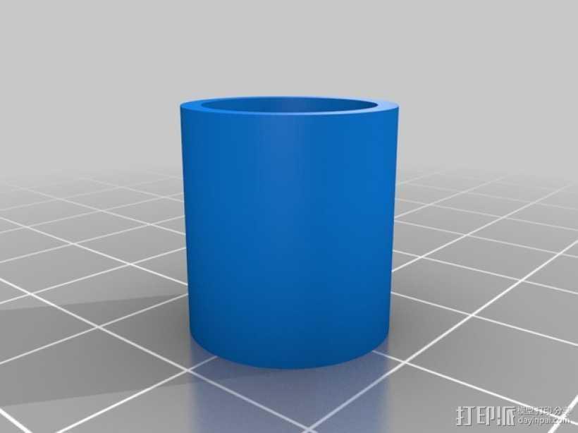 定制化管帽  3D打印模型渲染图