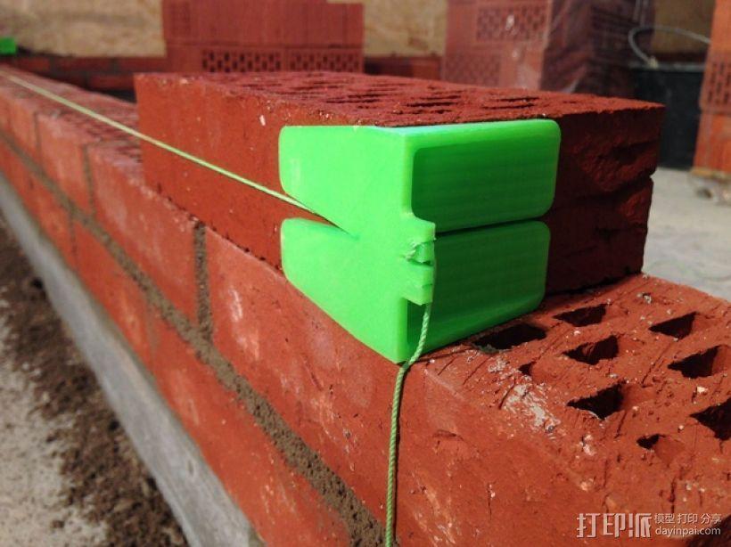 砌砖引导装置 3D打印模型渲染图