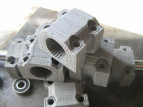 LM12UU滚珠轴承零部件