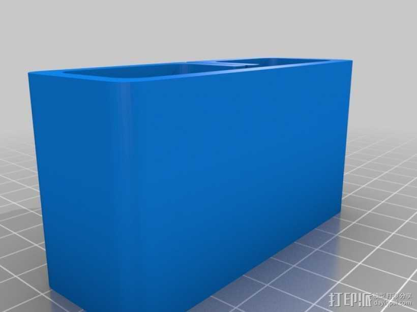 砂纸架 3D打印模型渲染图