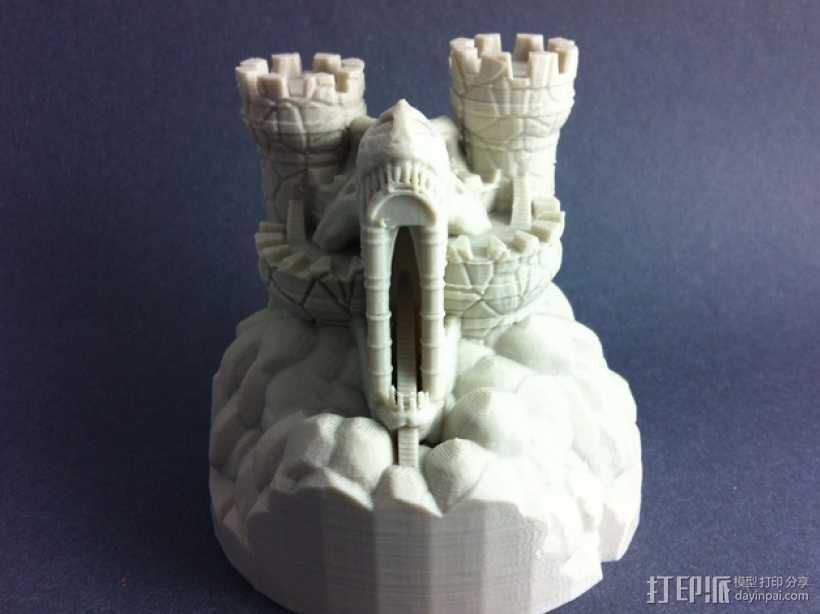 Rexor蛮族人的城堡 3D打印模型渲染图
