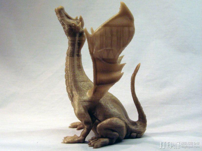 唱歌的蛇 海龙 3D打印模型渲染图