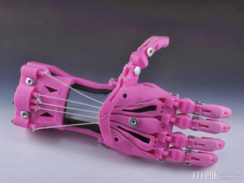 Cyborg Beast假手 3D打印模型渲染图