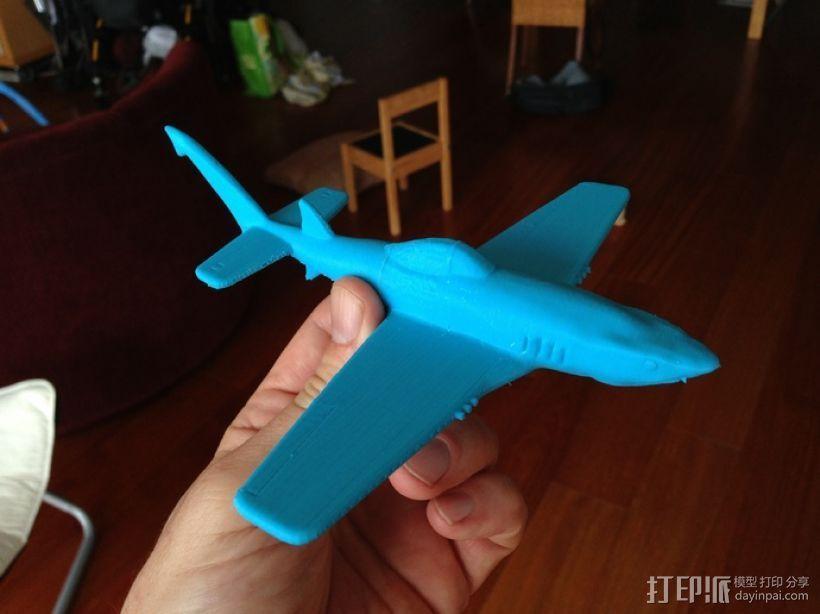 UW-33鲨鱼战斗机 3D打印模型渲染图