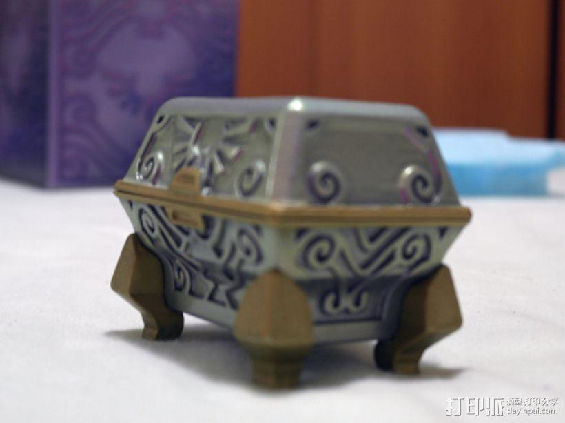 礼物盒 3D打印模型渲染图
