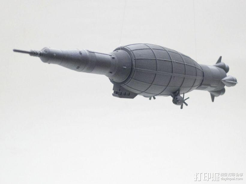 土星5号运载火箭 模型 3D打印模型渲染图