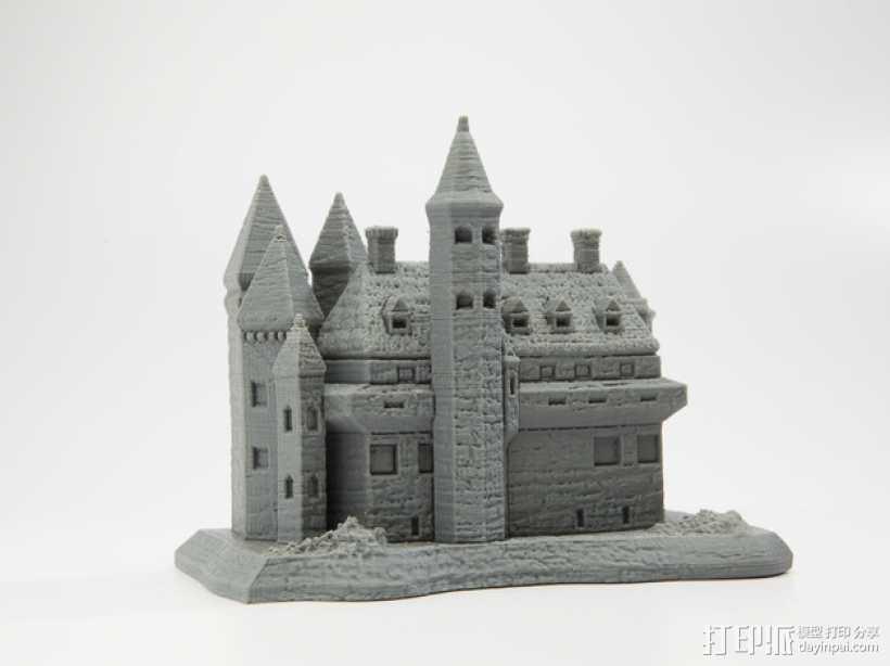 国王的城堡 3D打印模型渲染图