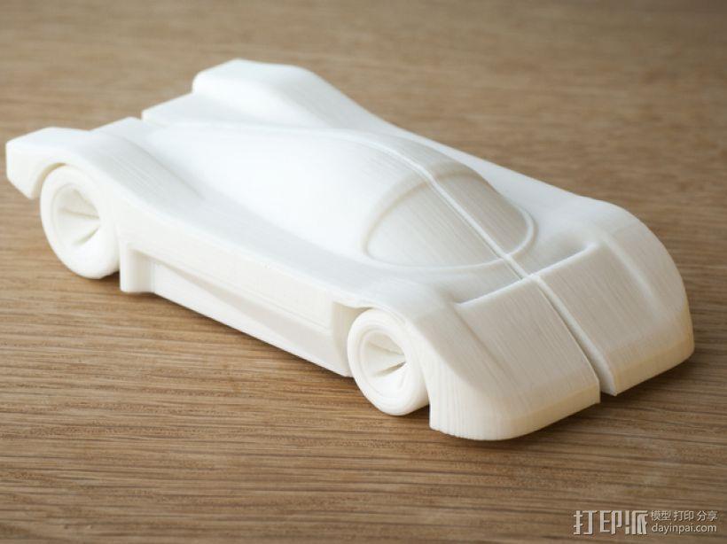 梅赛德斯C9 车 3D打印模型渲染图