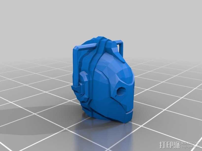赛博人 3D打印模型渲染图