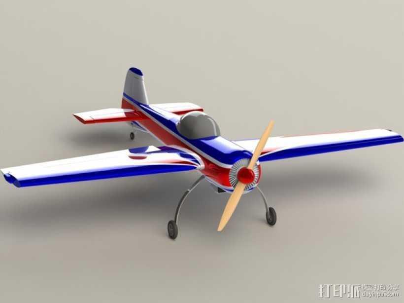 俄罗斯飞机模型 3D打印模型渲染图